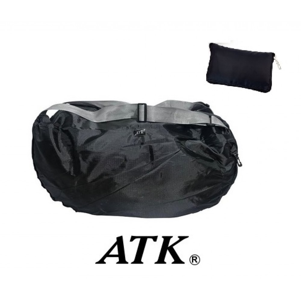 Bolso Deportivo ATK Plegable Negro