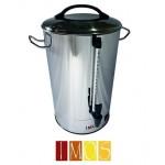 Hervidor IMOS 30Lts doble capa acero inox.Electrico